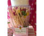 Cherry Hill Flowers - Pineapple Party Picks<br>Buy one get one - Moorestown Flower Shoppe