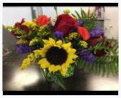 Designer's Choice - Jewel Tone Cube in Daphne, Alabama, Flowers ETC & Cafe