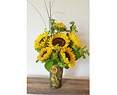 Vanderbilt University Flowers - Sun Drenched Sunflowers - Flowers By Louis Hody