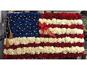 Flag in Aston, Pennsylvania, Blair's Florist