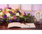 Wedding Reception in Springwater, Ontario, Bradford Greenhouses Garden Gallery