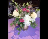 Chic and Showy Garden Centerpiece in Alliance, Ohio, Miller's Flowerland