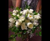 Royal Rose Bridal Bouquet in Alliance, Ohio, Miller's Flowerland