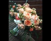 Pastel Princess Bridal Bouquet in Alliance, Ohio, Miller's Flowerland