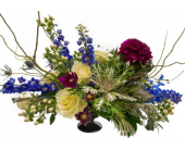 Bohemian Chic Arrangement in Amherst NY, The Trillium's Courtyard Florist