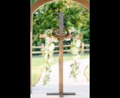 Wedding Ceremony in Ridgeland, Mississippi, Mostly Martha's Florist
