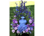 Lavender Blue Tribute in Winchester, Virginia, Flowers By Snellings