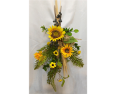 Sunflower Swag in Grand Rapids MN, Shaw Florists