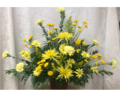 Sympathy Urn 3 in Durham, North Carolina, Flowers By Gary