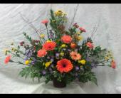 Sympathy Urn 4 in Durham, North Carolina, Flowers By Gary