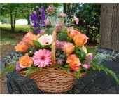 Sympathy Basket 1 in Bossier City, Louisiana, Lisa's Flowers & Gifts