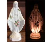Blessed Mother Night Light in Sterling Heights MI, Sam's Florist