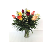Mixed Roses & Filler in Smyrna GA, Floral Creations Florist