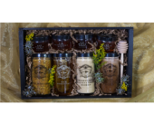 Mixed Bee Artisan Honey Crate in Reno NV, Bumblebee Blooms Flower Boutique