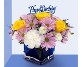 September Birthday Arrangement of the Month in Southfield MI, Thrifty Florist