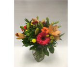 Gerberas & Lilies in Belleville ON, Live, Love and Laugh Flowers, Antiques and Gifts