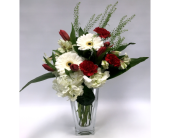 Red and White Creations in Belleville ON, Live, Love and Laugh Flowers, Antiques and Gifts