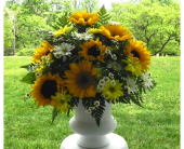 Sunflower Altar Vase in Perry Hall, Maryland, Perry Hall Florist Inc.