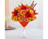 Martini Bouquet Pumpkin Spice in Huntington WV, Archer's Flowers, Inc.