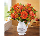 Country Harvest Pitcher in Huntington WV, Archer's Flowers, Inc.