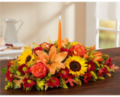 Fields of Europe� for Fall Centerpiece in Manchester MD, Main St Florist Of Manchester, LLC