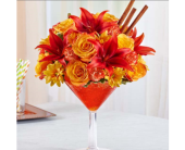Martini Bouquet� Pumpkin Spice in Manchester MD, Main St Florist Of Manchester, LLC