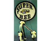 Custom Dodge Super Bee Logo in Islip NY, Flowers by Chazz