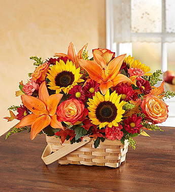 Fields of Europe� for Fall Basket in Ormond Beach FL, Simply Roses