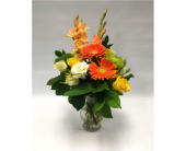Orange Reflection in Belleville ON, Live, Love and Laugh Flowers, Antiques and Gifts