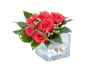 Delivery of funeral flowers in Saint Albert