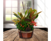 Autumn Leaves Planter - Deluxe in Dallas TX, In Bloom Flowers, Gifts and More