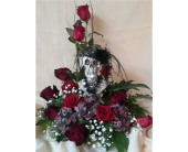 Skulls & Roses in Largo FL, Rose Garden Flowers & Gifts, Inc