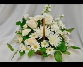 Soft White Basket  in Henderson, Nevada, Beautiful Bouquet Florist