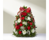 Make It Merry Tree in Sycamore IL, Kar-Fre Flowers