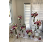 Wedding in Laval, Quebec, La Grace des Fleurs