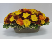 Autumn Floral Casserole in Frisco TX, Patti Ann's Flowers