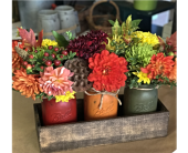 Country Fall Trio by Ferrari in Santa Cruz CA, Ferrari Florist