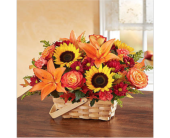 Fields of Europe� for Fall Basket in Richmond VA, Flowerama