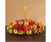 Autumn Wishes Centerpiece� in Richmond VA, Flowerama