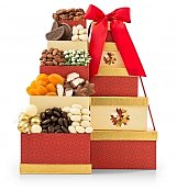 Good Tidings to Share Tower - by GiftTree Flowers