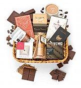 Premium Dark Chocolate Gift - by GiftTree Flowers