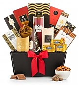 Sincerest Greetings Gourmet Gift Basket - by GiftTree Flowers