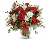 Teleflora's Holiday Shine Bouquet in Bradenton FL, Tropical Interiors Florist