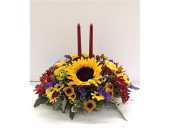 Simply Grateful Fall Centerpiece in Smyrna GA, Floral Creations Florist