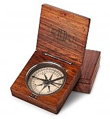 Lewis and Clark Compass - by Gift Tree Flowers