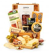 Top Shelf Charcuterie and Cheese Basket - by Gift Tree Flowers