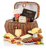 Deluxe Cured Meats and Imported Cheese Gift - by Gift Tree Flowers