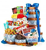 Good Times Candy Tower - by Gift Tree Flowers