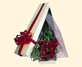 Brockton Flowers - Box of  Red Roses - Bridgewater Florist