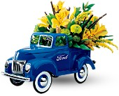 Teleflora's Classic Ford Pickup Bouquet in San Clemente CA, Beach City Florist